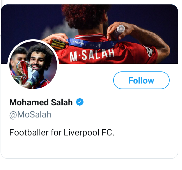Egypt FA write to FIFA for explanations after Mo Salah removes all mention of Egypt from social media after they failed to vote for him in FIFA