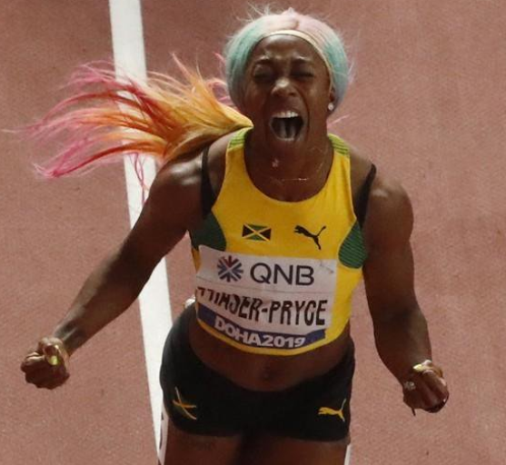 #DOHA2019: Jamaica?s Fraser Pryce becomes world?s fastest woman