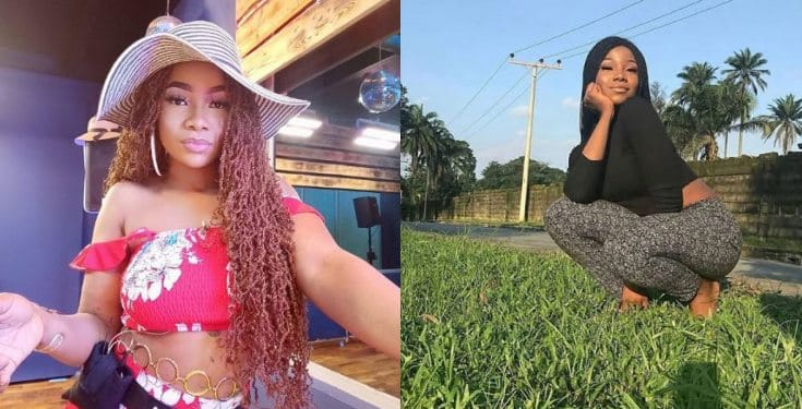 BBNaija: See what Tacha did after her disqualification (Video)
