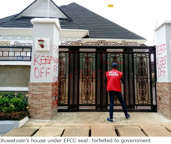 FBI-wanted fraudster Emmanuel Oluwatosin forfeits house, cars, bags prison term