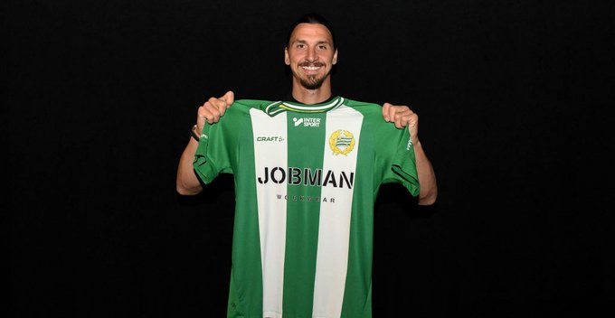 Zlatan Ibrahimovic becomes a co-owner of football club Hammarby